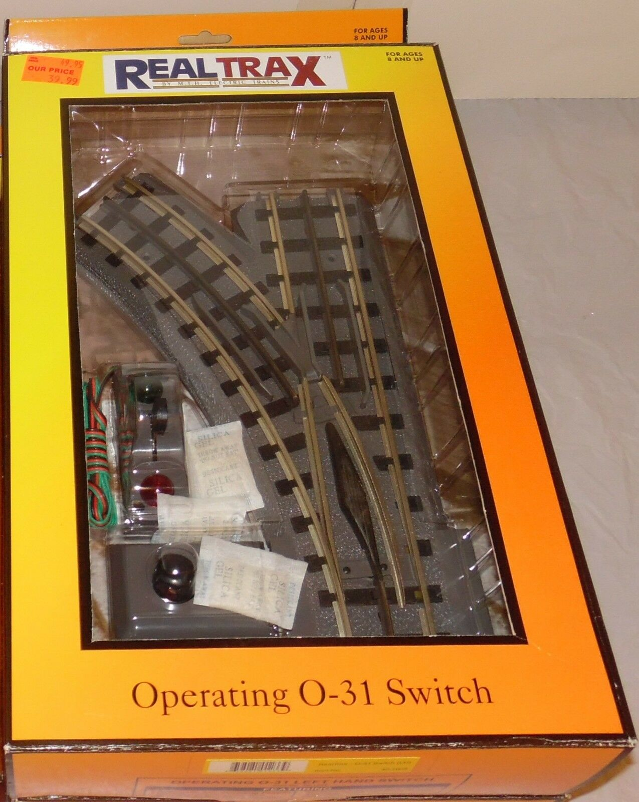 MTH 40-1005 RealTrax O-31 LH Left Hand Switch