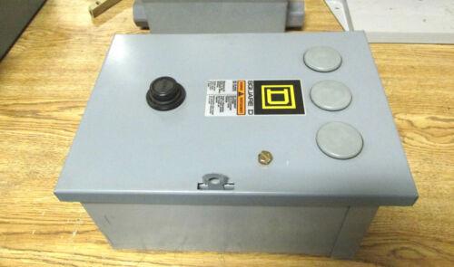 120V Coil w//Encl VQ-400 * NEW Square D Starter Class 8536 Type SB02 Nema size 0