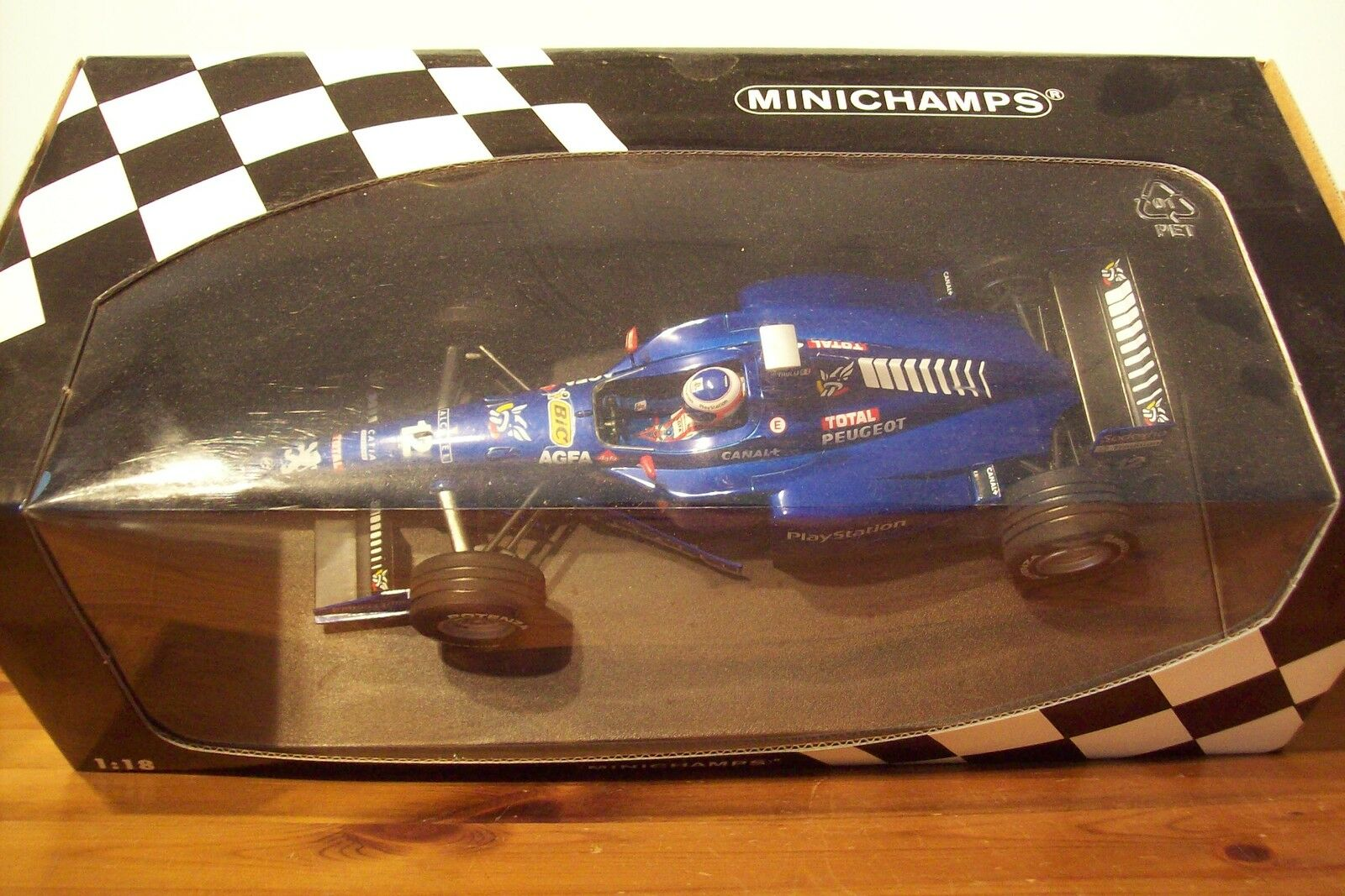1 18 Prost AP01 Peugeot Jarno Trulli 1998