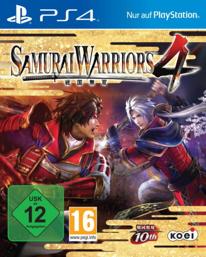 1 von 1 - Samurai Warriors 4 (Sony PlayStation 4, 2014, DVD-Box)