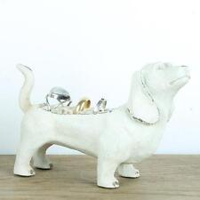 Sausage Dog Ring holder Jewellery Hanger Holder Stand Shabby Chic Rings Animal