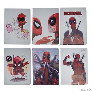 Deadpool-Cuoio-Smart-Case-Cover-per-Apple-Ipad-Air-Flip-Folio-Ipad-5