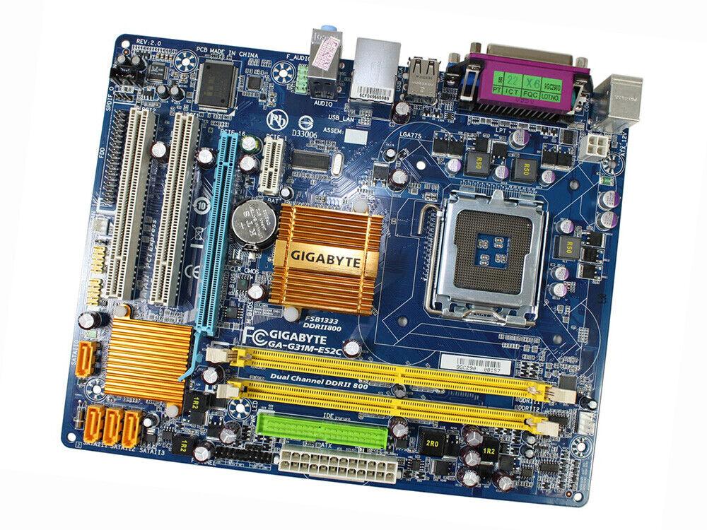 gigabyte ga-g31m-es2c lan driver xp