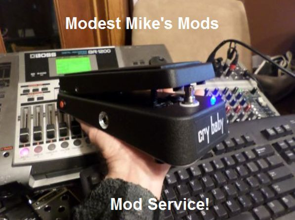 GCB-95 and V847 Mod Service  Send us your pedal