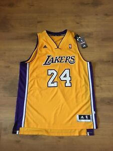Adidas Authentic Basketball NBA Jersey Los Angeles Lakers Kobe Bryant size XL