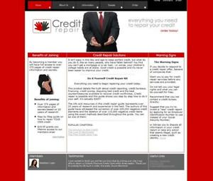 Make-Money-with-CREDIT-REPAIR-Packages-Established-Business-Website-For-Sale