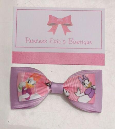 Handmade Disney Daisy Duck Lilac Hair Bow