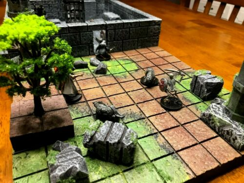 Big Dungeon Chunks Deluxe Set Terrain 28mm Dungeons /& Dragons Pathfinder d/&d rpg