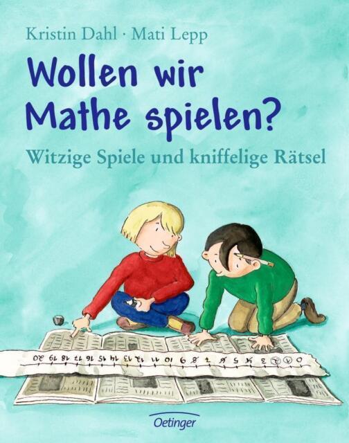 Wollen wir Mathe spielen? von Kristin Dahl (2000, Gebundene Ausgabe)