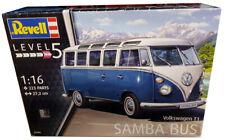 Volkswagen VW T1 Bulli Samba Bus im Maßstab 1:16 Level 5 Revell 07009