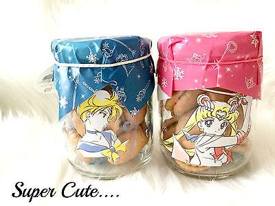 ❤ Sailor Moon x It's Demo Uranus Neptune 2016 Kawaii Cookie Jar Set Japan Only❤