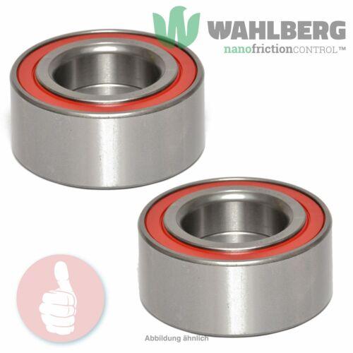 2 x Original WAHLBERG Radlager Radlagersatz WB96091 Vorderachse