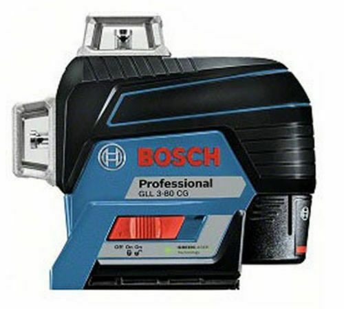 The new genuine Bosch Grün Line Laser Level GLL3-80 CG Professional