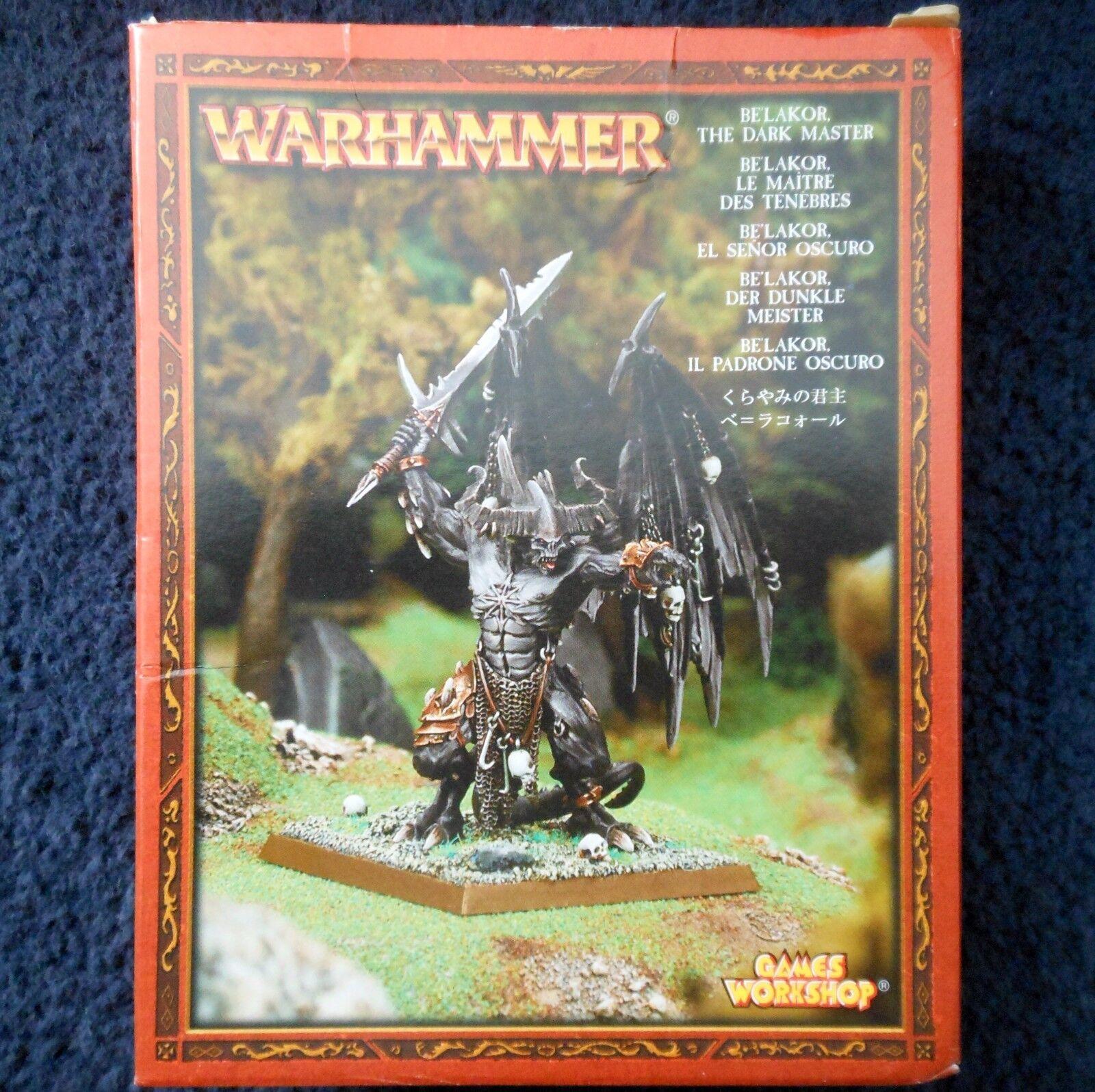 2004 Chaos Be'Lakor The Dark Master Daemon Prince Citadel Demon BeLakor MIB GW