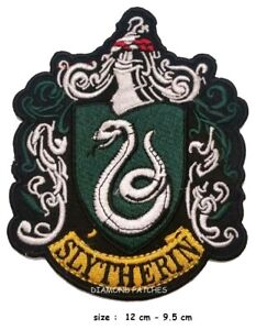 Harry-Potter-Slytherin-Embroidered-Iron-On-Sew-On-Patch-Badge-large