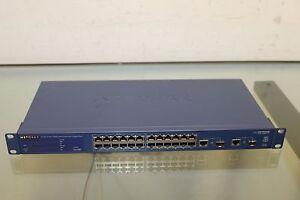 NETGEAR-ProSafe-24-Port-10-100-Smart-Switch-w-2-Gigabit-Ports-FS726TP