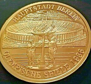 Medaille Gedenkpragung Olympische Spiele 1936 Ebay