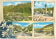 SALUTI DA CLAUT - VEDUTINE (PORDENONE) 1963