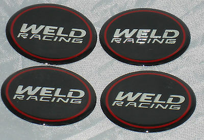 Weld Racing Wheels Set Of 4 Emblem Wheel Rim Center Cap