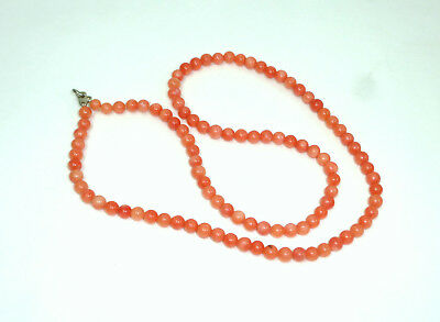 Coral Necklace Necklace Chain Um 1900 Coral Periods & Styles