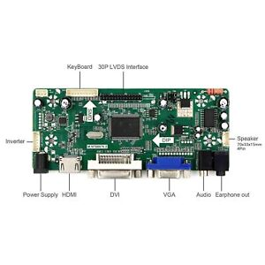 HDM I VGA DVI Audio Board Controller LCD per LCD Pannello Solo Controller Board
