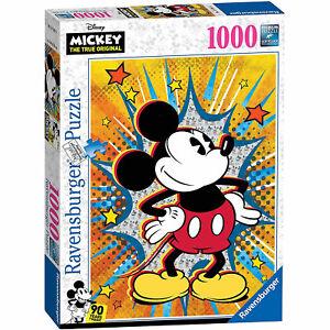 Ravensburger: Disney Retro Mickey 1000 Piece Puzzle *BRAND NEW*