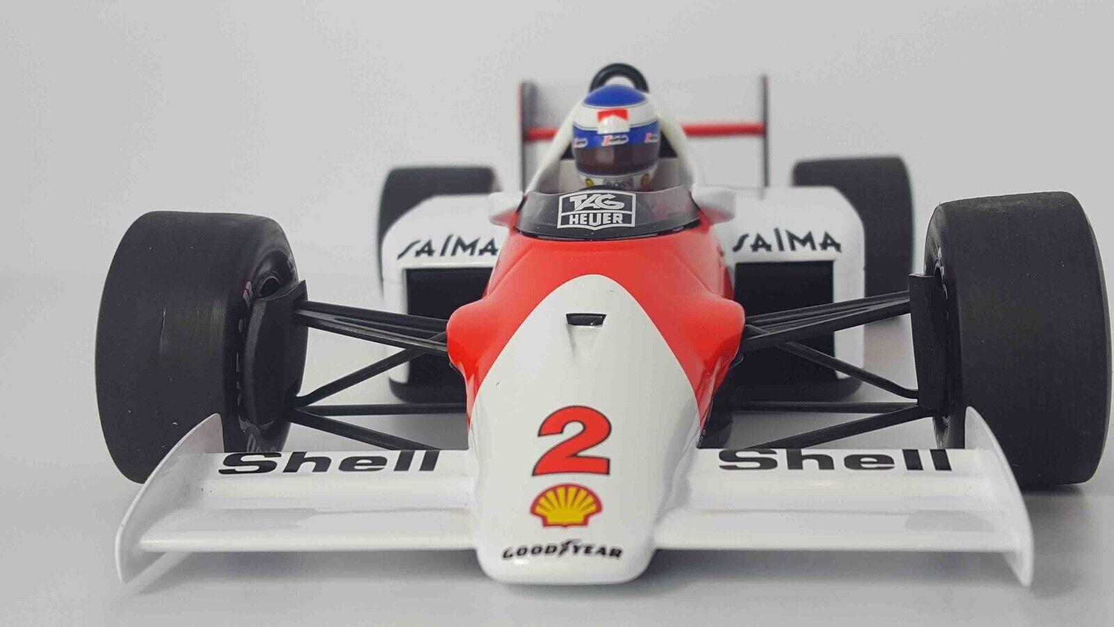 MINICHAMPS 530861802 1 18 1986 McLaren TAG MP4 2C Keke Rosberg et modèle F1