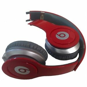 Beats By Dr Dre Solo Hd On Ear Wired Headphones Red For Parts 848447000142 Ebay