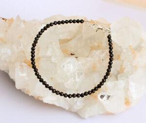 Schwarz Spinell Armband edelsteinarmband facettierte Schön Schmuck ca. 18,5 cm