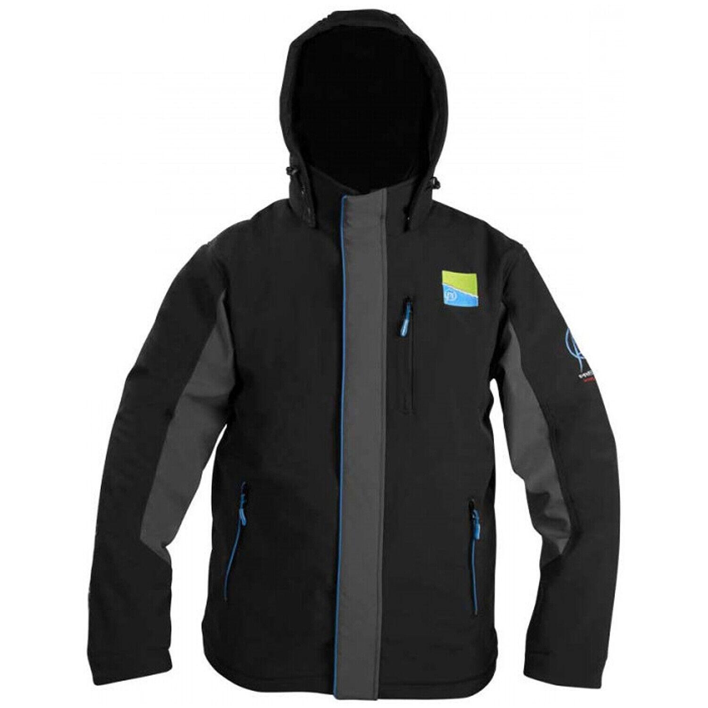 Nueva Chaqueta con capucha de polar Preston Soft  Shell Grande P0200017  nuevo listado