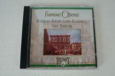 Famous Operas - Mussorgsky, Borodin, Glinka, Rachmaninov, Verdi, CD (Box 63)