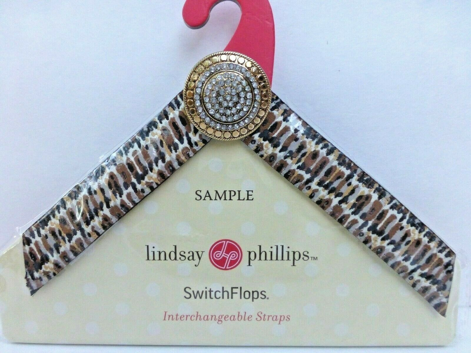 NEW Lindsay Phillips Isak straps small Switchflop set of 2 straps