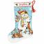 Dimensiones-Oro-contado-Cross-Stitch-Kit-Navidad-Stocking-Santa-Muneco-de-nieve miniatura 13