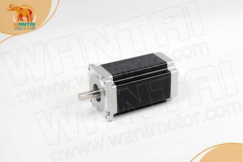 freewantai nema34 stepper motor cnc kit,1700oz=12N.M  6A 14MMshaft/&DQ860MA+POWER