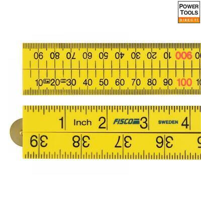Fisco Regola Di Nylon Abs Yellow 1m/39in- Nuove Varietà Sono Introdotte Una Dopo L'Altra