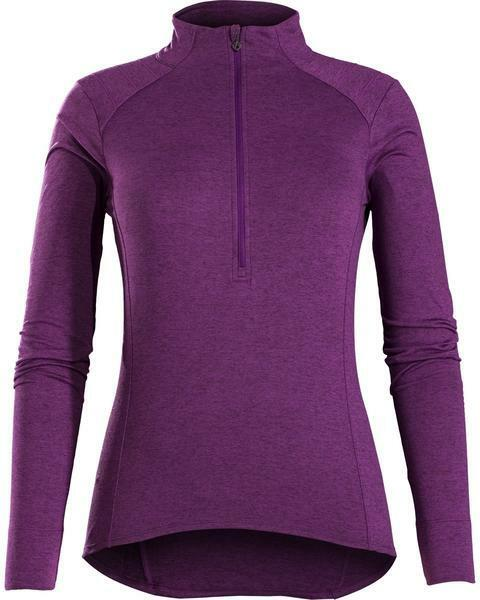 MAGLIA BONTRAGER VELLA THERMAL LONG SLEEVE JERSEY MAILLOT colore VIOLA