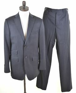 84368ab68be55 TED BAKER Mens 2 Button 2 Piece Suit Size 38 Medium W32 L35 Grey ...