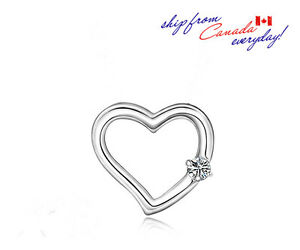 S925-Sterling-Silver-Heart-Shaped-Cubic-Zirconia-Pendant-W-or-W-Chain