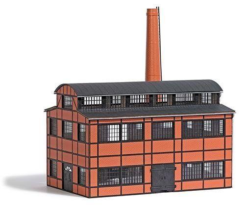Busch 1557 , Edificio de Fábrica (Produktionshalle ), H0 Modelos en Miniatura