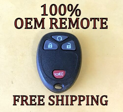 OEM GM GMC CHEVROLET BUICK CADILLAC SATURN KEYLESS REMOTE FOB OUC60221 OUC60270