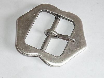 Gürtelschnalle Schließe Schnalle  35 mm altsilber  NEUWARE  rostfrei