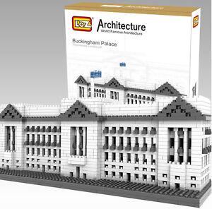 LOZ World Architecture London The Buckingham Palace Model Building Blocks Toy