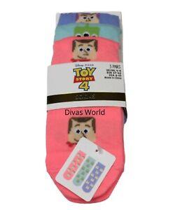 Disney Shoe Liners Winnie The Pooh Ladies Ankle Socks 3 Packs Size UK4-8 Primark