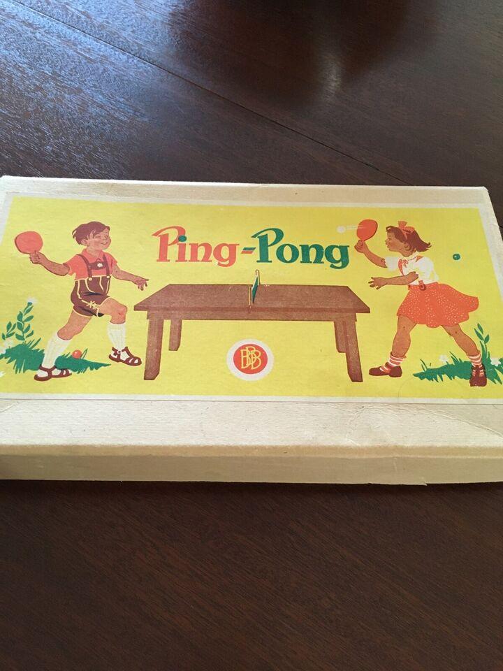 Andre samleobjekter, Ping Pong