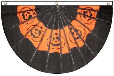 3x5 5x3 Halloween Pumpkin Pumpkins Bunting 3/'x5/' 100D Premium Flag Grommets