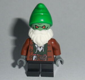 mythical creature lego evil gnome troll custom new genuine lego
