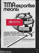 TMA TRANS MEDITERRANEAN 1 MILLION MILES PIPELINE NEW YORK-MIDDLE EAST 707 AD