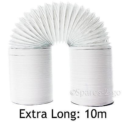 10 M Extra Forte Tubo Di Sfiato Tubo lungo per Asciugatrice Beko