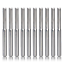 """Double Edged Straight Router Bits Straight End Mill 2 HQMaster 1//8/"""" Shank Dia"""
