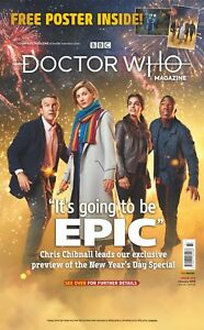 DOCTOR WHO MAGAZINE JANUARY 2019 (ISSUE 533, FREE POSTER) NEW...FAST POST